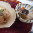 今日は、「大根」と「ブリ」で ブリのおろし煮物と 「ハス」で、筑前煮風