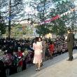 ウランバートル市立第23中学校の入学式