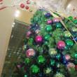 無事、1日目終わる! と 假屋崎省吾氏のクリスマスツリー