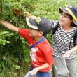 大粒の実たくさん - 奈良・福祉施設農園 親子連れ楽しく