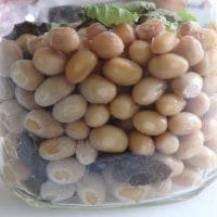 納豆菌無しに!納豆が出来たよー。