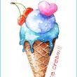 アイスクリーム・ミント味