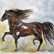 ~馬を描く~