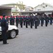 大阪府松原警察署で歳末警戒隊発隊式が行われ当協会役員が来賓として招待されました。