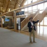 道の駅「ふたつい」オープン前見学会