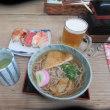 神戸電鉄有馬駅横すぐ 「浪花鮓 まえなか」でのランチ on 2018-9-25