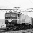 EF5861けん引の団体列車
