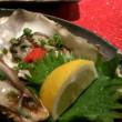 兵庫県産の生牡蠣も旨かった