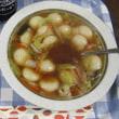 今日のホッピー  ふかひれ入り「スープ餃子」