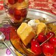 * おうちカフェ★我が家のチェリー祭り!バームパフェ *