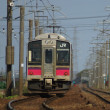 新幹線こまちとローカル線