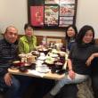 中国の友達と昼食
