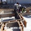 I様邸新築工事(いわき市) ~基礎立上りコンクリート打設工事~