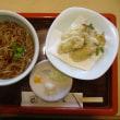 牡蠣の天ぷら蕎麦