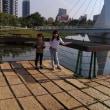 朝食と公園