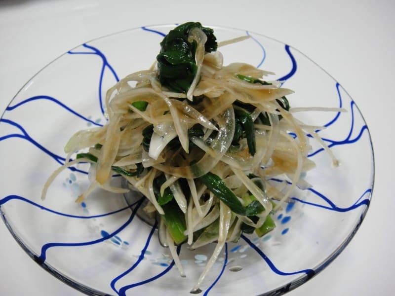 【レシピ】 ニラと玉ねぎのさっぱり酢