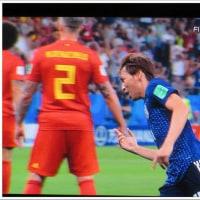 サッカーW杯 日本 vs ベルギー