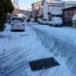 雪も降り、毎日寒いです。