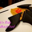 SPECIAL FINS  by SANTA CRUZ  x 近未来型3D SURFBOARD  ズッキューン(⋈◍>◡<◍)。✧♡