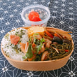 香川県の郷土料理しょうゆ豆を入れたわっぱ弁当