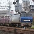 夙川にて昨日写したEF200牽引貨物