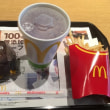 マクドナルドへ行ってきました