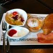 『元町珈琲 新潟青山の離れ』の「サンドイッチモーニング」で朝食