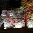 「福岡城 チームラボ 城跡の光の祭り」に行きました