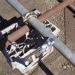 単管パイプで物置小屋を作る準備