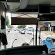 2018年5月23日,LA バスで移動