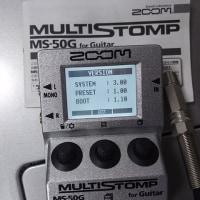 ZOOMのMS-50Gが賢くなりました