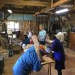 こしかけ作り 木工教室つなぎ