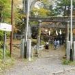軽井沢のいろいろ 旧軽井沢、諏訪神社の紅葉・・