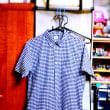 「ユニクロ」へ→「ドライストレッチ・シアサッカーチェック・シャツ」(半袖)を購入♪