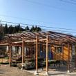 庭の改装 ~ 屋根づくり 3