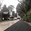 松陰神社に初詣 -2018年 正月-