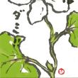 「絵手紙もらいました―蕺草―」について考える