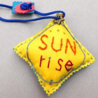 手づくり  「sun  rise」 ・・・・ 仲田丸子 さんの作品