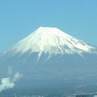 富士山がとてもきれいでした 得をしたような気持に