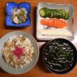 #朝飯シメジ寿司