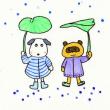 「けんか」(わくわく山の12ヶ月③ 6月)