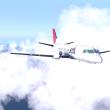 SAAB 340Aで雪の但馬から隠岐まで・隠岐から大阪まで