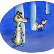 犬の監視社会はテリトリー確認なのだ?