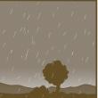 雨の日の胡ゆアラーム