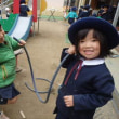 あお・みどり・おれんじ 3・4・5歳児 戸外遊び