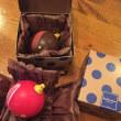 極上クリスマスのショコラ  ももちゃん食べちゃった!