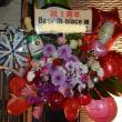 さいたま市 バー 1周年祝のスタンド花
