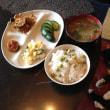 ポテサラと豆ご飯