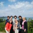 🎵 九州から山口に渡り、 いままた関門海峡を渡る、 明るく強いがん患者のその意気や善し!