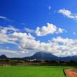 真夏のカラー(青空&夕陽) (^O^)/~~♪
